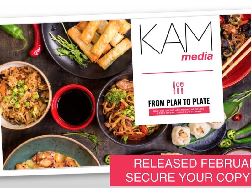 Plan to Plate – new insight report from KAM Media