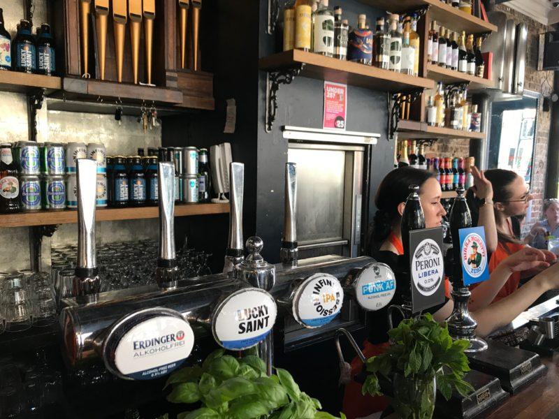 Alcohol free pub