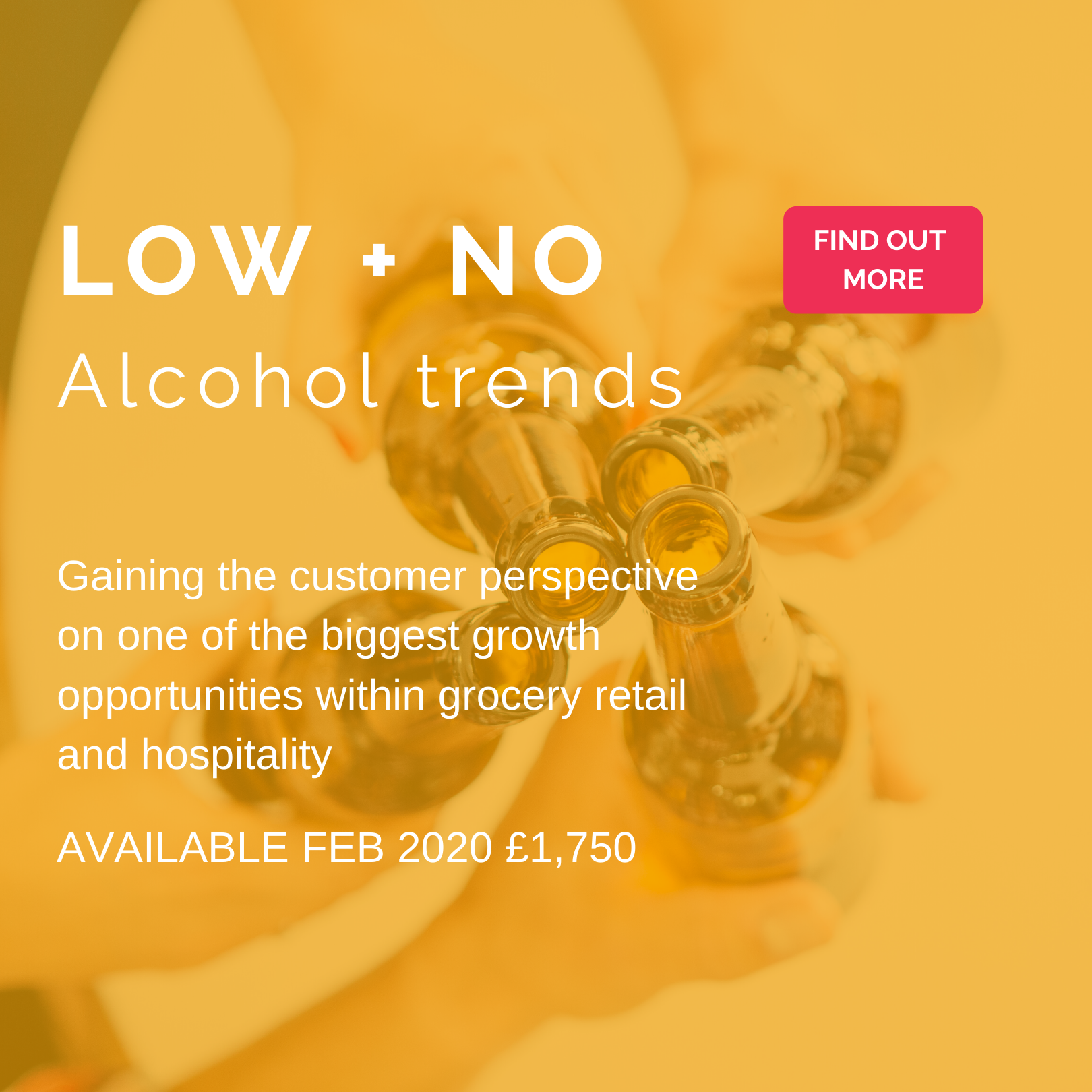Low and No alcohol trends