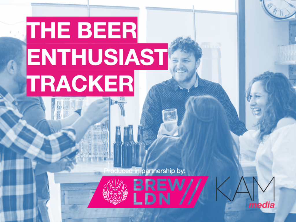 Beer enthusiast tracker